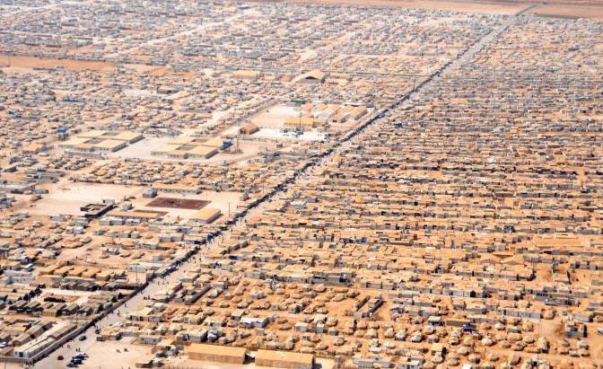 Za'atri Refugee Camp